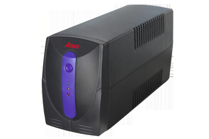 Bộ lưu điện UPS ARES AR265i 650VA