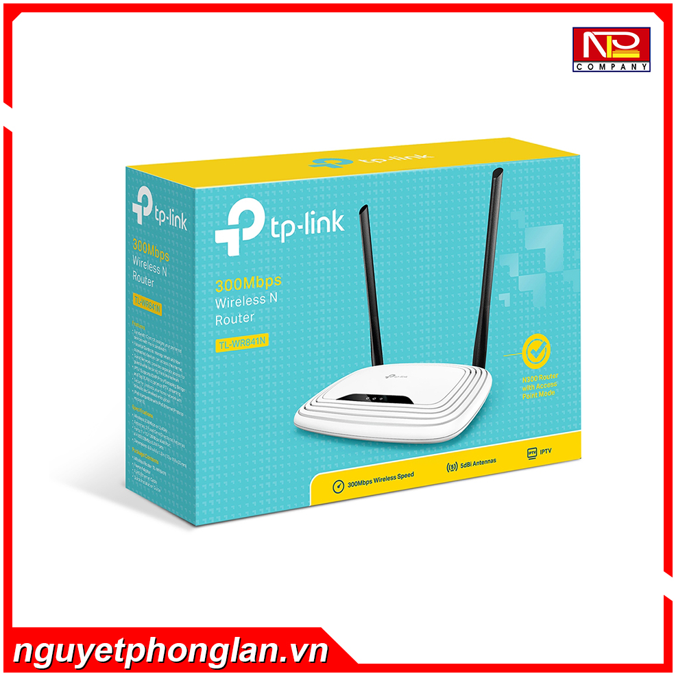 Bộ phát wifi TP-Link WR841N Wireless 300Mbps