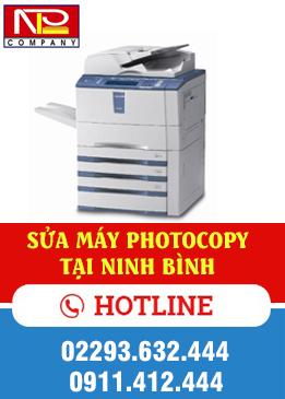 Sửa máy photo tại Ninh Bình