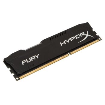 Ram Kingston 4G 1600MHZ DDR3 CL10 Dimm HyperX Fury Black