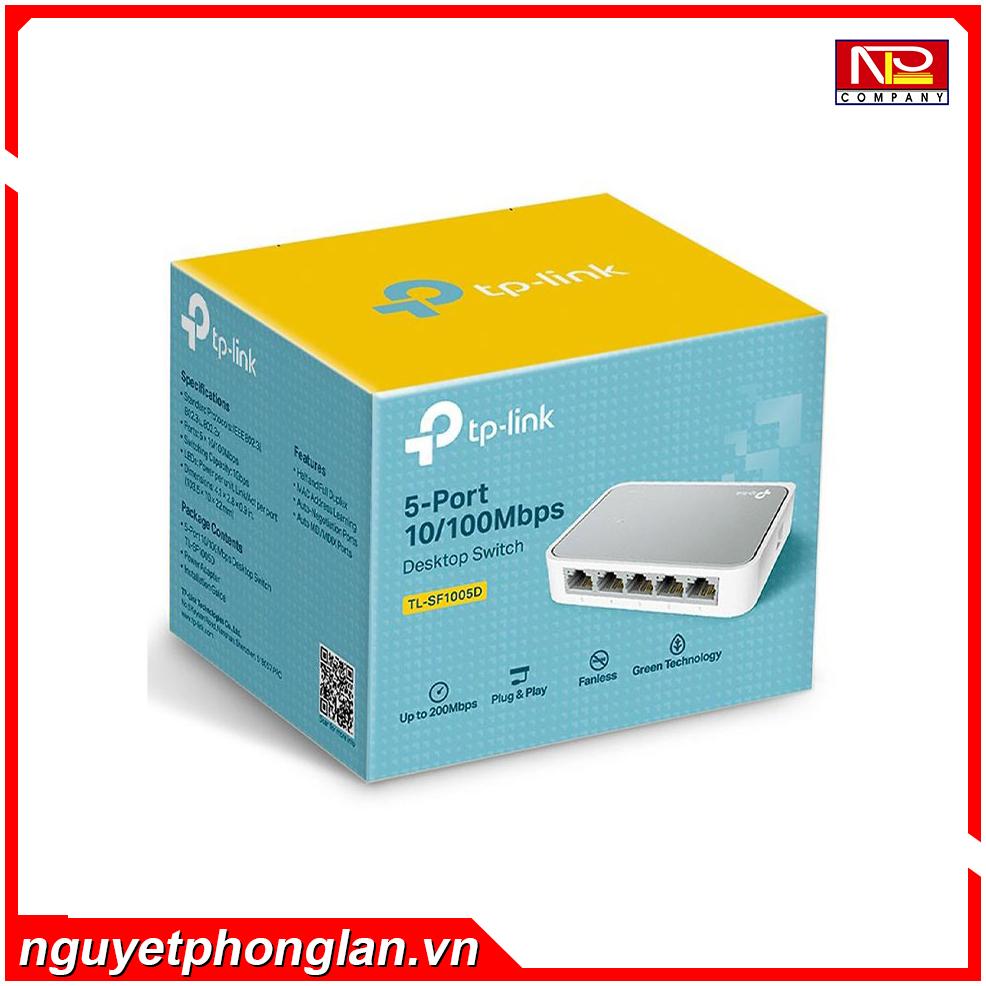 Switch TP-Link TL-SF1005D (5Port 10/100Mbps – Vỏ nhựa)