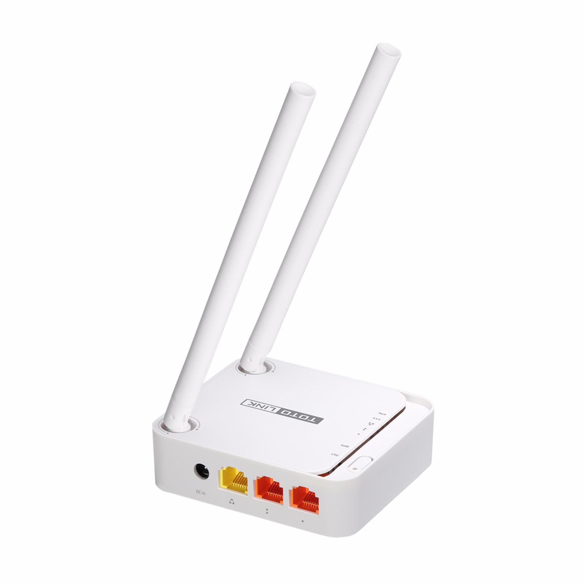 Bộ phát Wifi 2 râu 300Mbps TOTOLINK N200RE-Mini