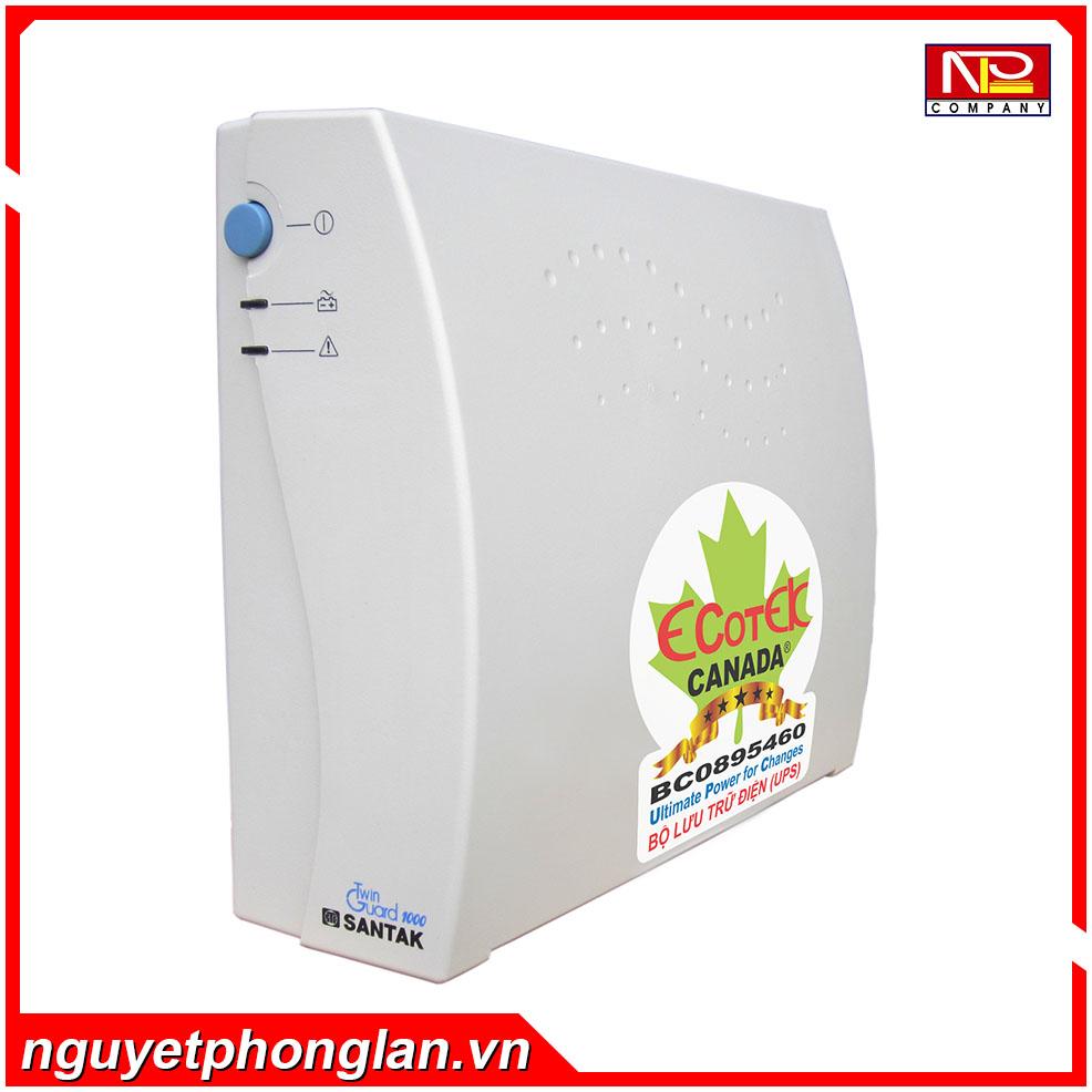 Bộ lưu điện UPS Santak 1000VA/600W – TG 1000