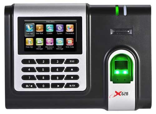 Máy chấm công vân tay thẻ cảm ứng RONALD JACK X628C