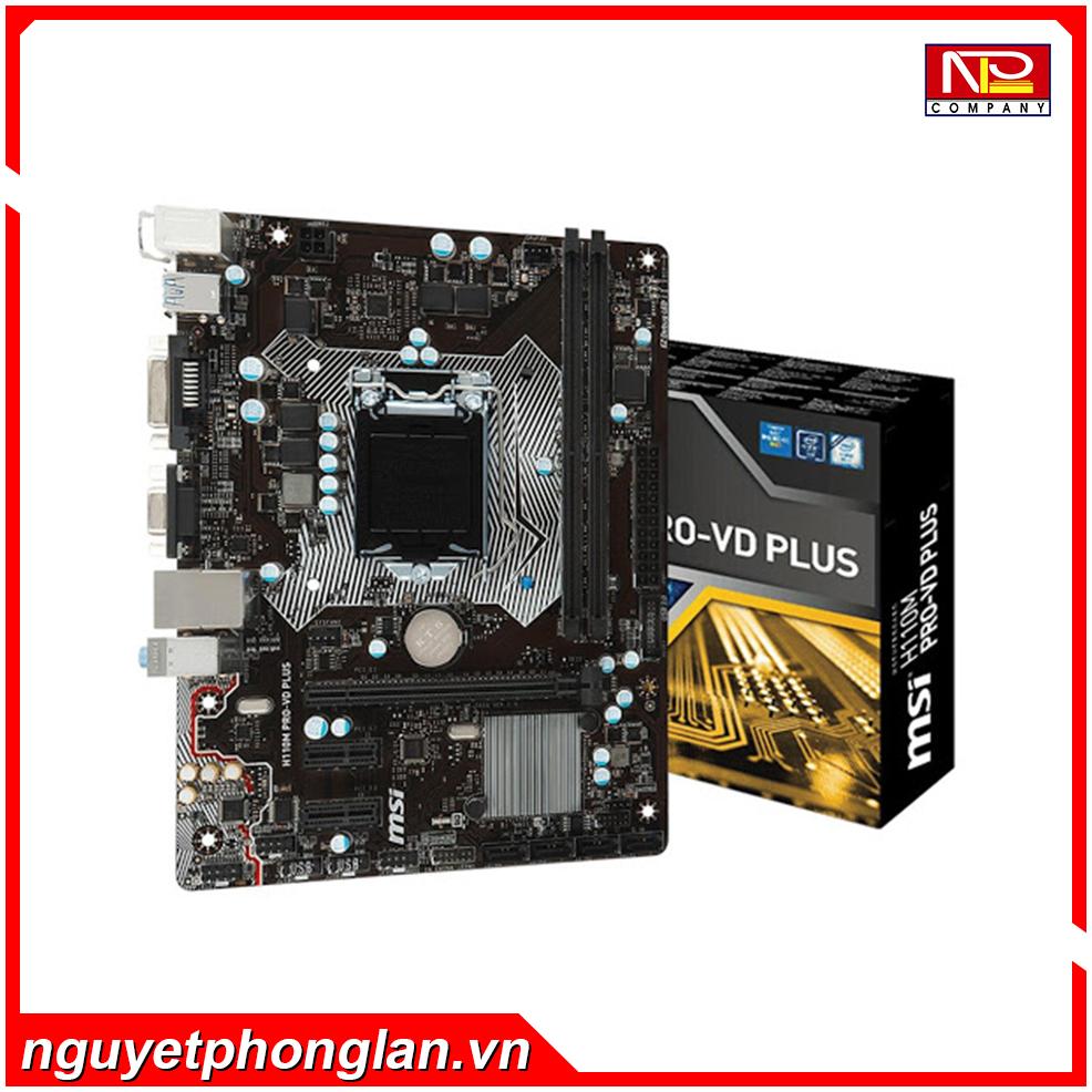 Mainboard MSI H110M PRO-VD Plus