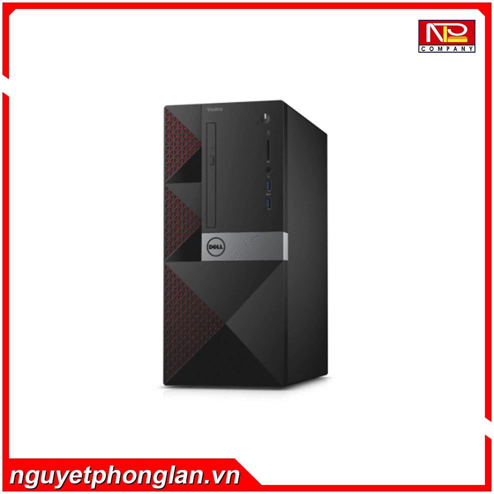 PC Dell Vostro 3668MT (PWVK41)/ i5-7400/ 4G/ 1T/ DVDRWBlack