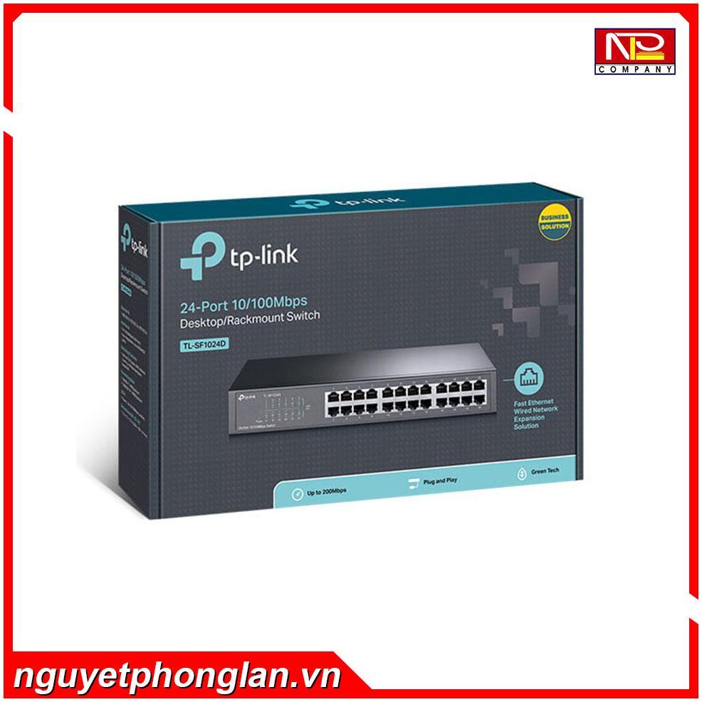 Switch TP-Link TL-SF1024D (24Port 10/100Mbps – Vỏ kim loại)