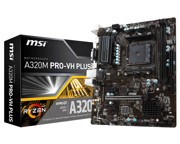 Mainboard MSI A320M PRO VH PLUS