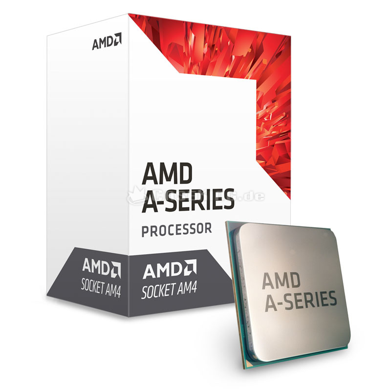 CPU AMD A8 9600 APU 3.1 GHz (Turbo 3.4Ghz /2MB / CPU 4 cores  / GPU 6 cores / socket AM4)