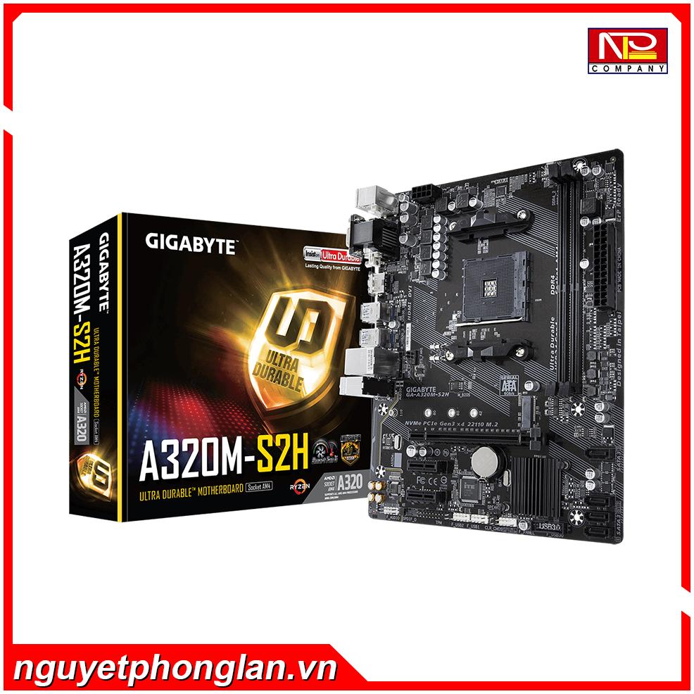 Mainboard Gigabyte GA-A320M-S2H (Chipset AMD A320/ Socket AM4/ VGA onboard)