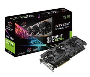 VGA ASUS ROG STRIX Geforce GTX 1070 Ti A8G