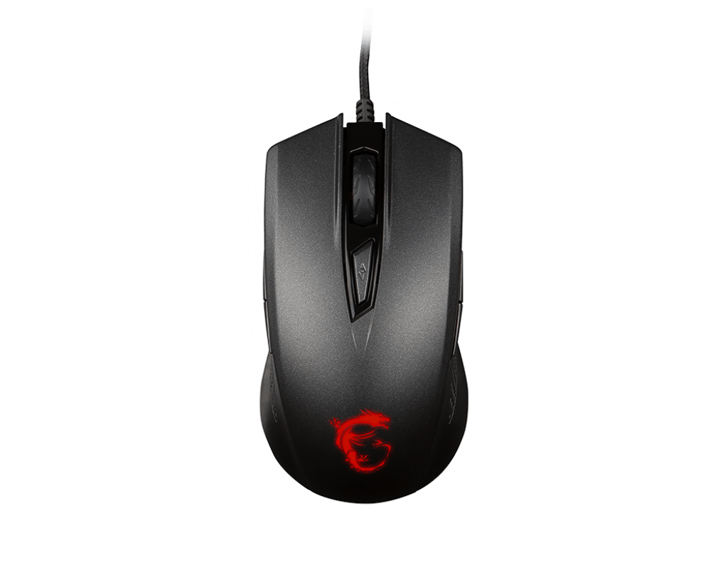 Mouse MSI GAMING CLUTCH GM40 Black