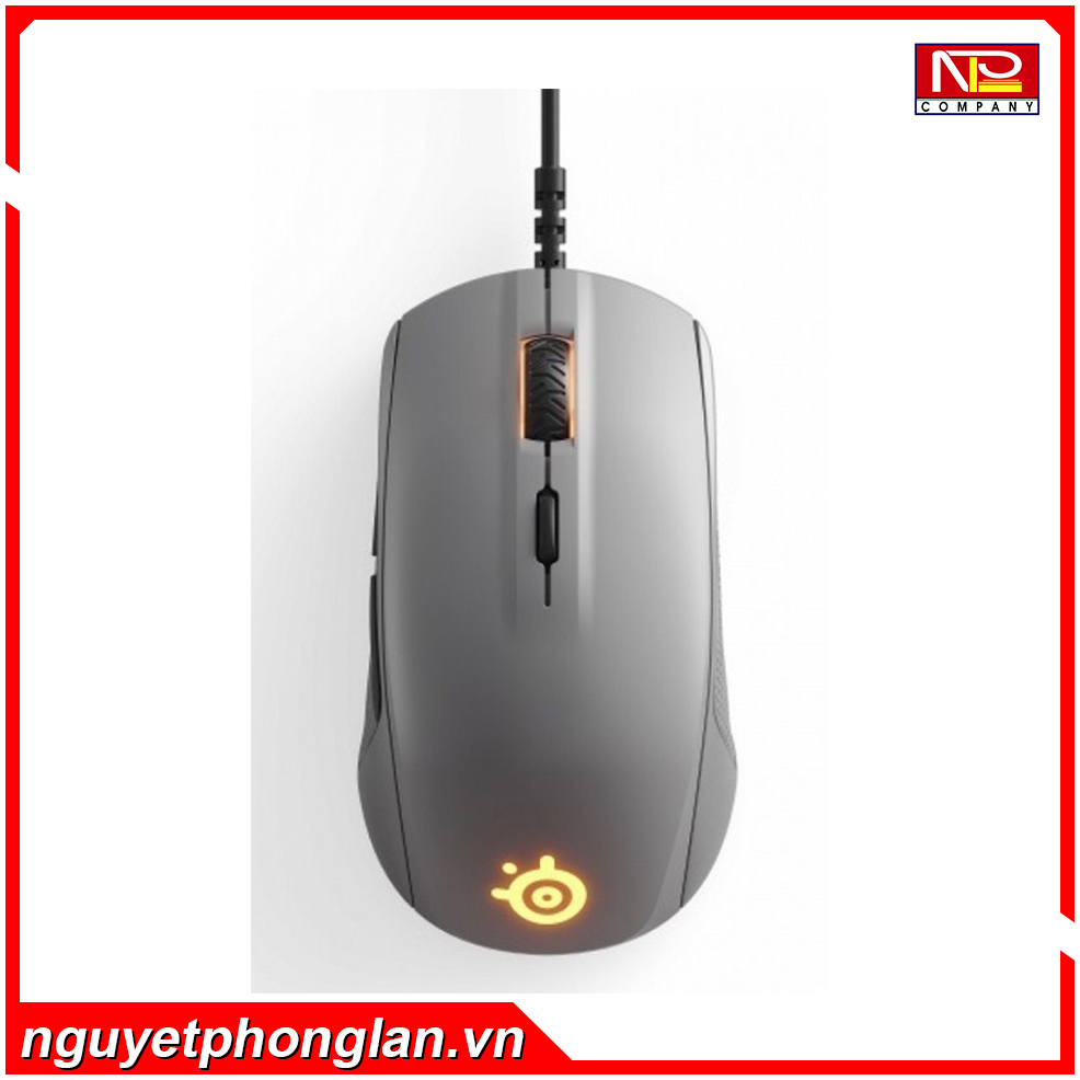 Chuột SteelSeries Rival 110 Steel Grey
