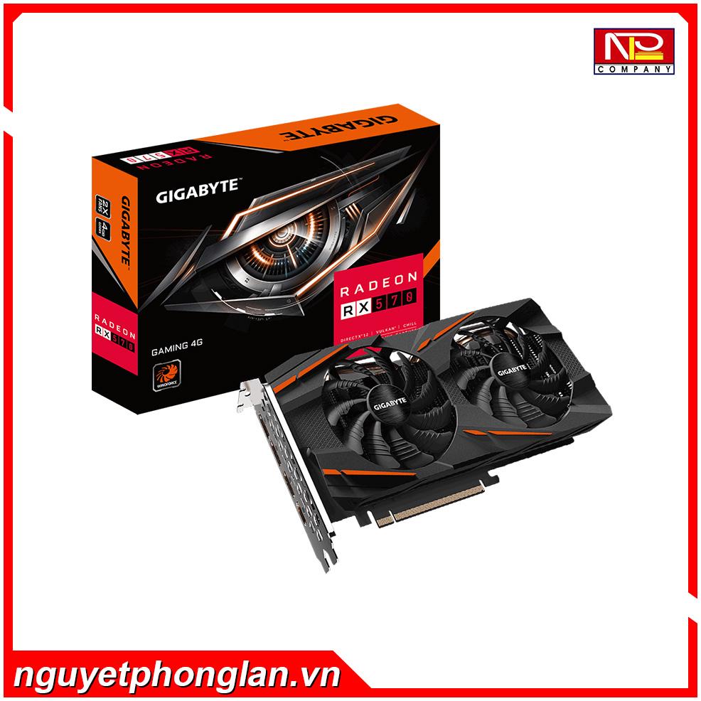 VGA Gigabyte RX570GAMING-4GD