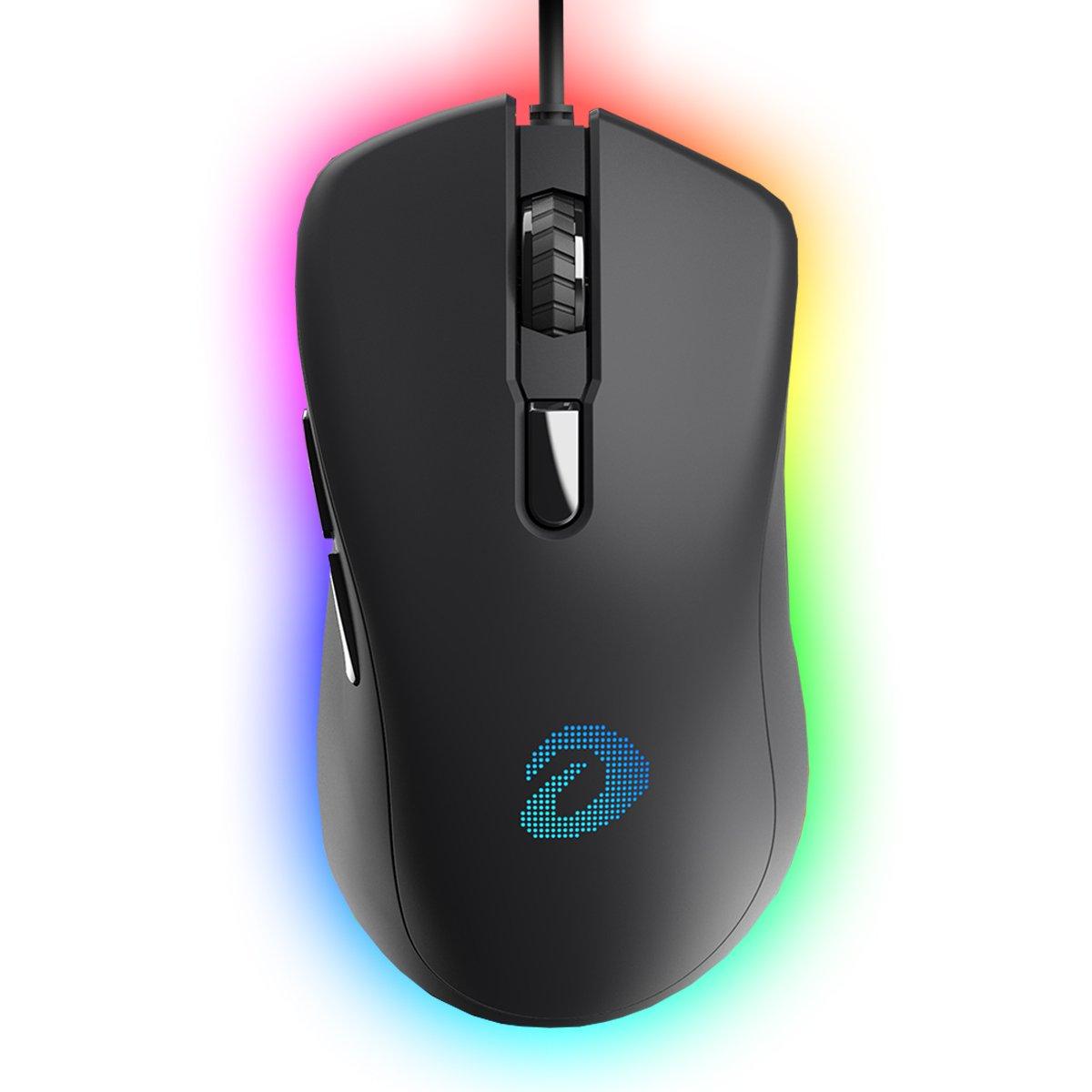 Mouse Dareu EM908 RGB USB Black