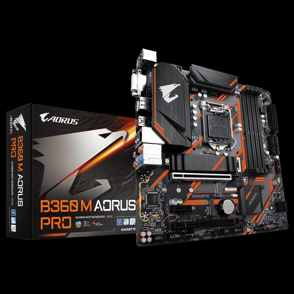 Mainboard Gigabyte B360M Aorus Pro