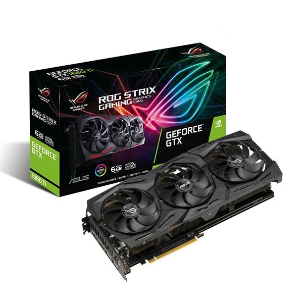 VGA Asus ROG-STRIX-GTX1660TI-O6G-GAMING