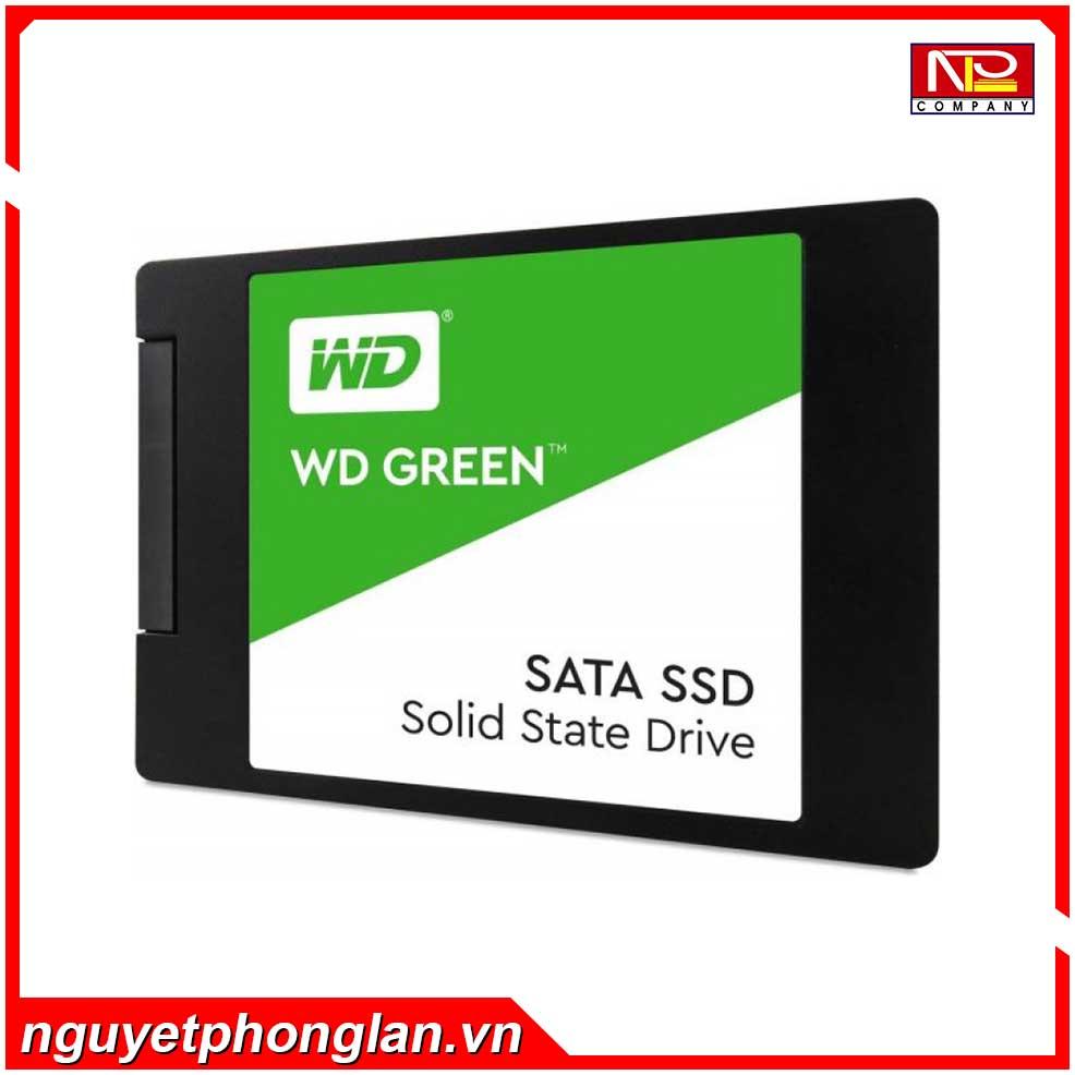 SSD WD Green 240GB Sata3 2.5″ (Doc 545MB/s, Ghi 465MB/s) – WDS240G2G0A