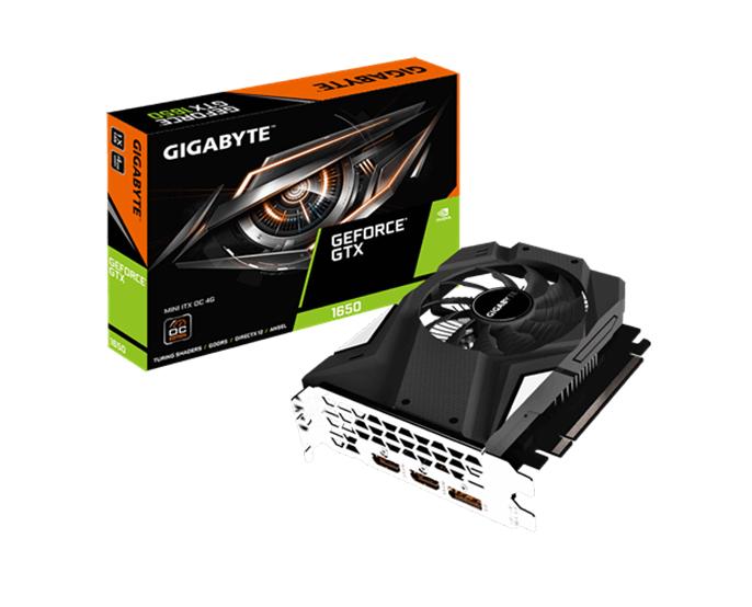 VGA GIGABYTE  GTX 1650 MINI ITX OC 4G