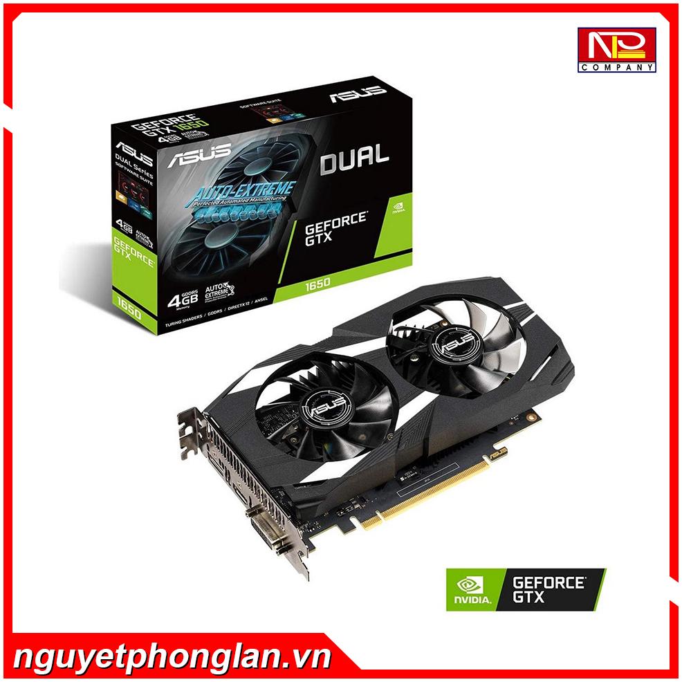 Vga Card ASUS DUAL GTX1650 – 4G