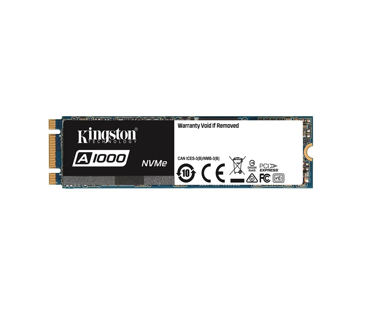 SSD Kingston A1000 240GB NVMe M.2 2280 PCIe Gen 3.0 x2
