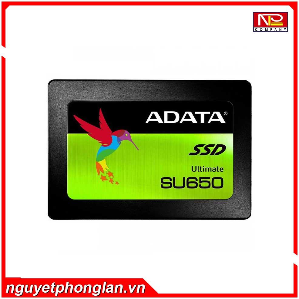 SSD Adata SU650 240GB Sata (Doc 520MB/s, Ghi 450MB/s)