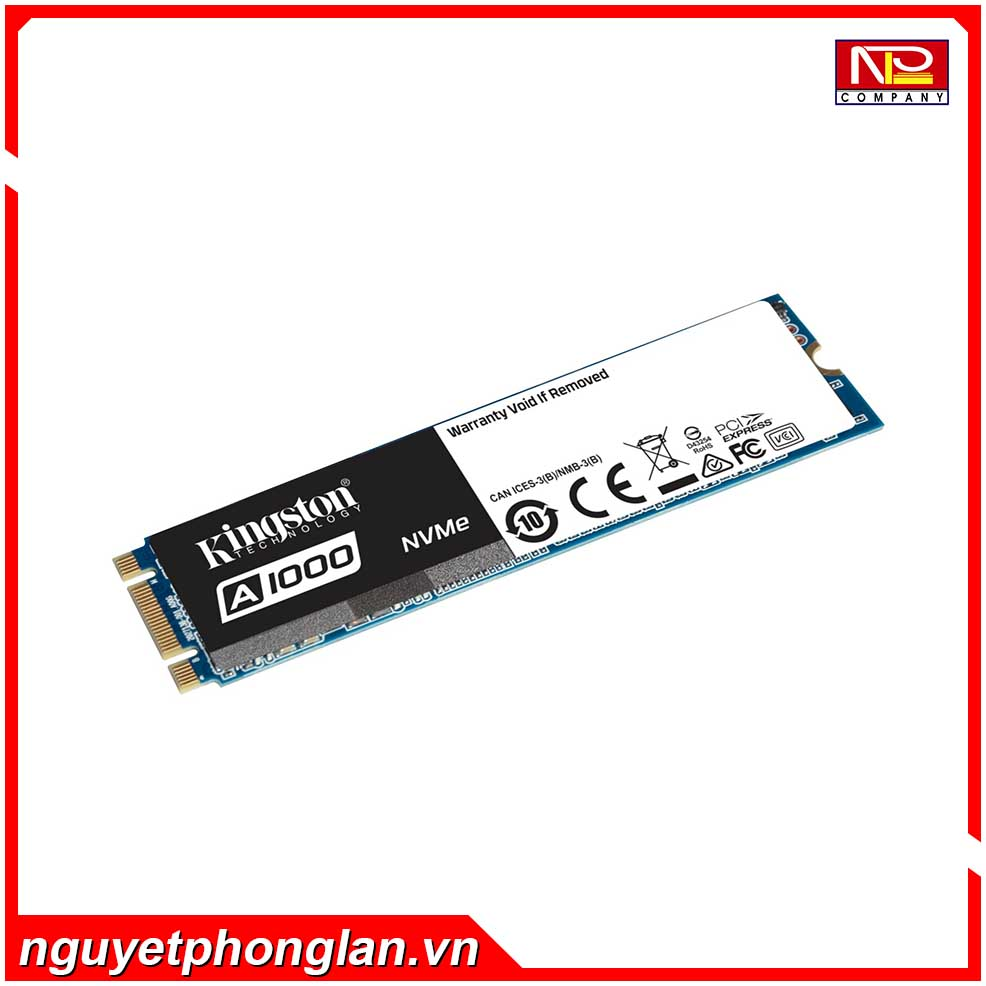 SSD Kingston A1000 240GB NVMe M.2 2280 PCIe Gen 3.0 x2