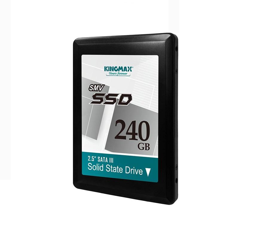 Ổ cứng SSD Kingmax SMV32 240GB 2.5″ SATA3 (Đọc 500MB/s – Ghi 410MB/s)