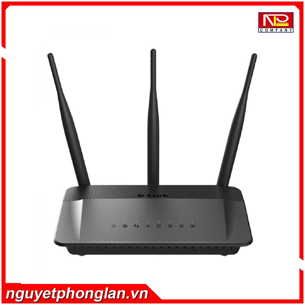 Bộ phát wifi Dlink DIR-809 Wireless AC750 Mbps