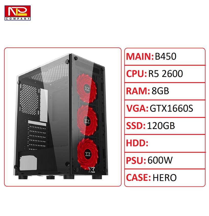 NPL-R526008G1660S – PC gaming và đồ hoạ giá tốt