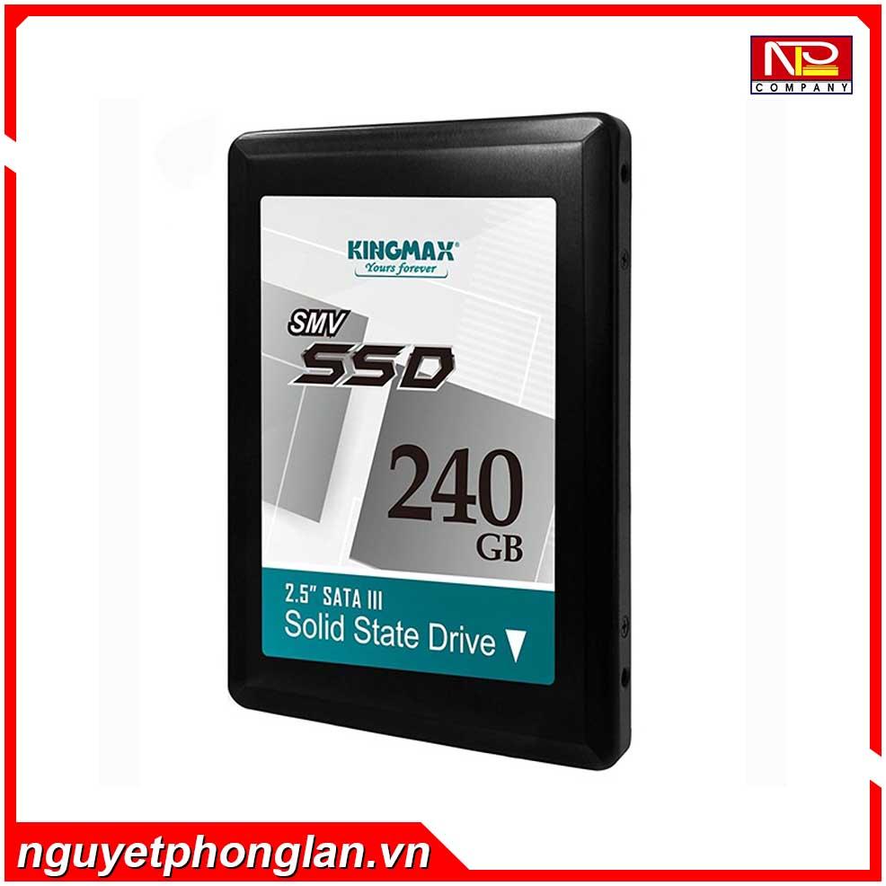 SSD Kingmax SMV32 240GB 2.5″ SATA3 (Đọc 500MB/s – Ghi 410MB/s)