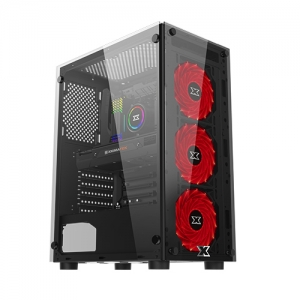 CASE XIGMATEK HERO (EN45136) – ATX, 2 SIDE TEMPERED GLASS