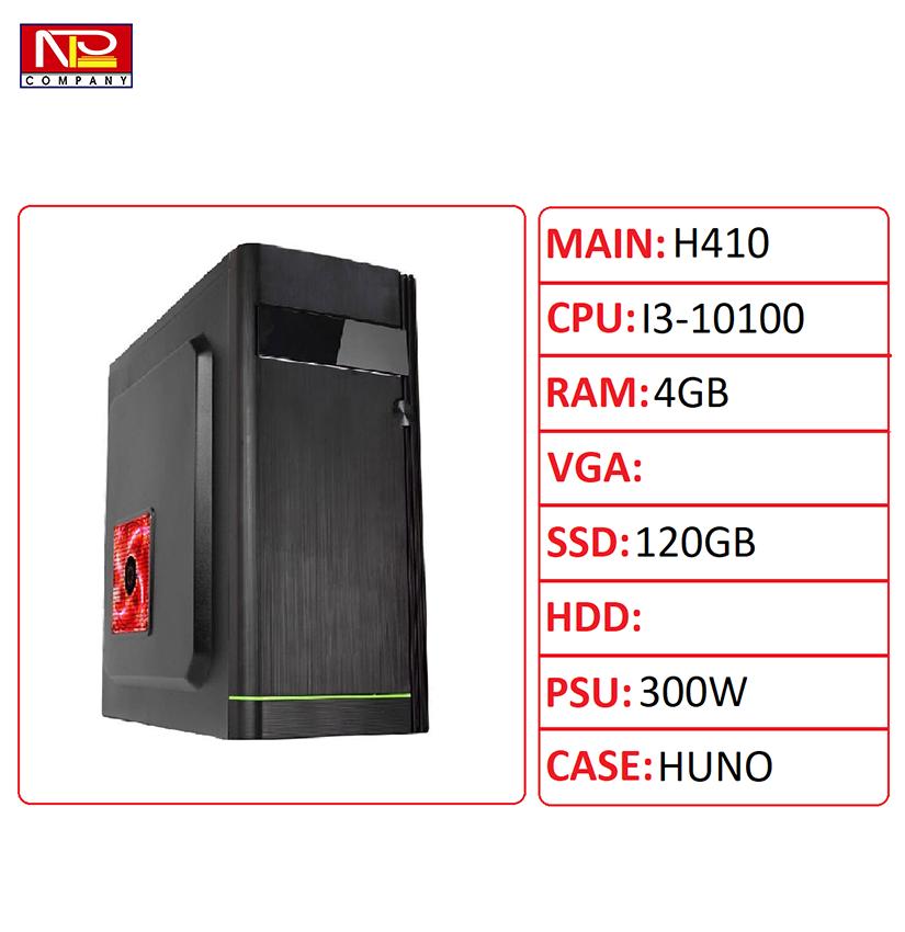 NPL-101004G – PC văn phòng CPU i3 thế hệ 10th