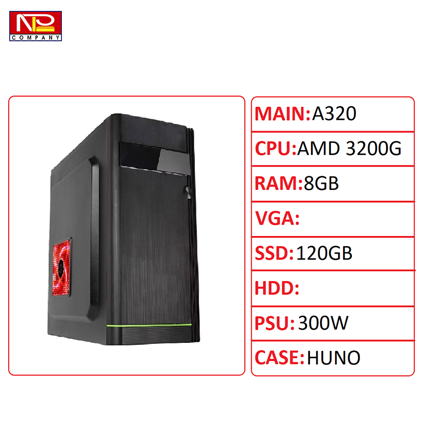 NPL-3200G8G – Máy tính chơi game E-sport giá rẻ