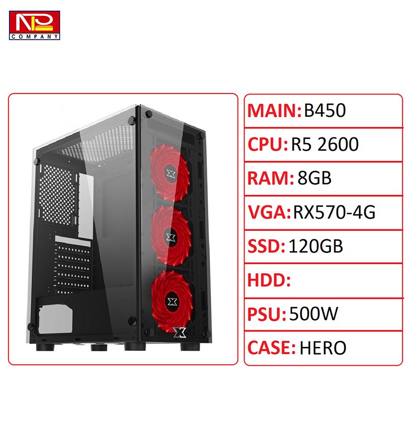 NPL-R526008G570 – PC gaming best hiệu năng trên giá thành