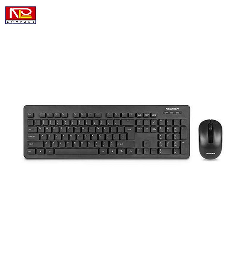 Bộ bàn phím chuột Newmen K121 Wireless Black
