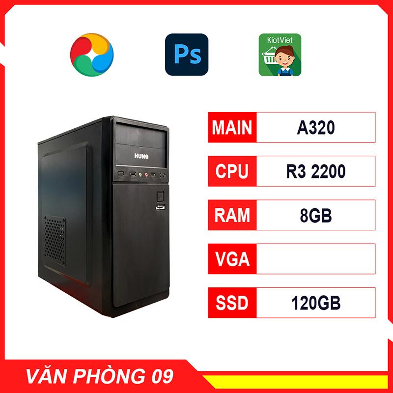 NPL Office 9 (R3-2200-8G) – Máy tính đa tác vụ giá rẻ