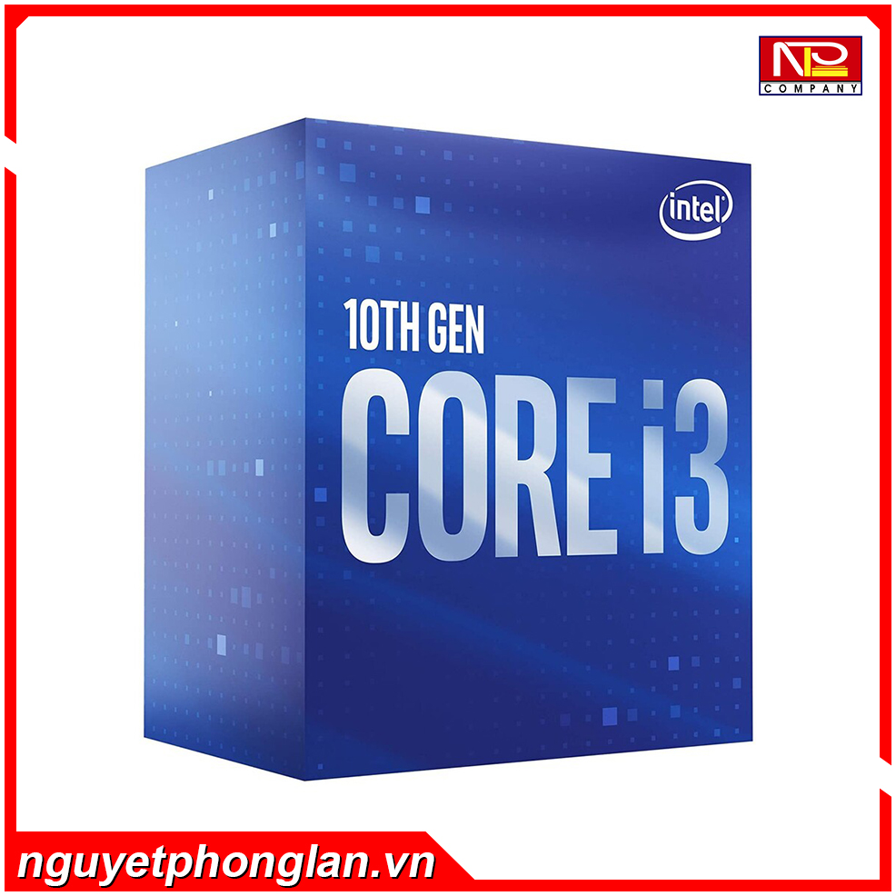 CPU Intel Core i3-10100 (3.6GHz turbo up to 4.3Ghz, 4 nhân 8 luồng, 6MB Cache, 65W) – Socket Intel LGA 1200