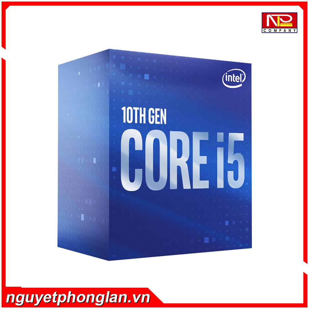 CPU Intel Core i5-10400F (2.9GHz turbo up to 4.3Ghz, 6 nhân 12 luồng, 12MB Cache, 65W) – Socket Intel LGA 1200