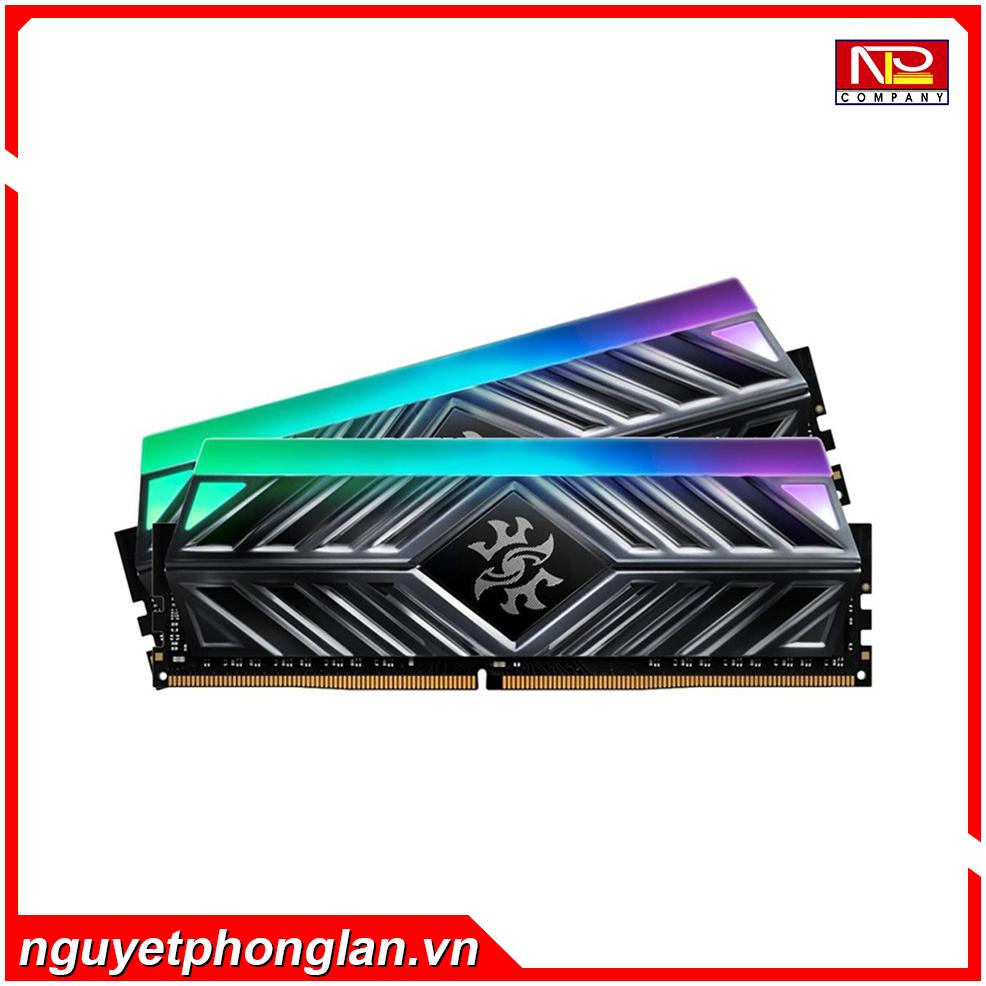 RAM Desktop Adata XPG Spectrix D41 RGB (AX4U300038G16A-ST41) Grey 8GB (1x8GB) DDR4 3000MHz