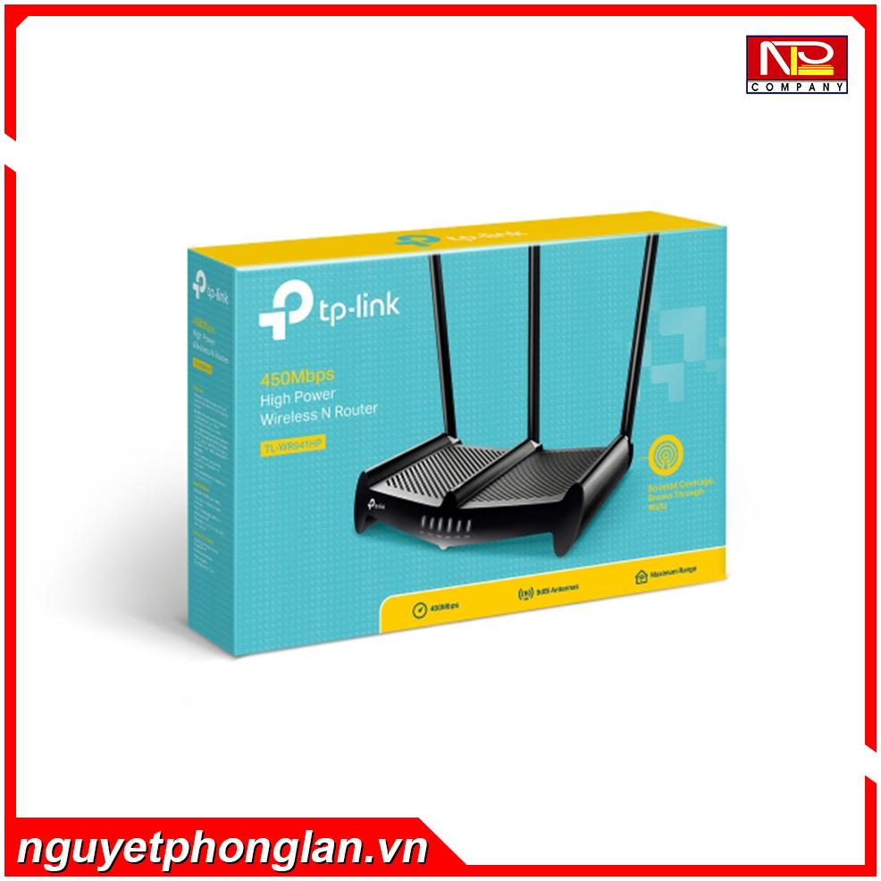 Bộ phát wifi TP-Link TL-WR941HP Wireless N450Mbps Xuyên tường