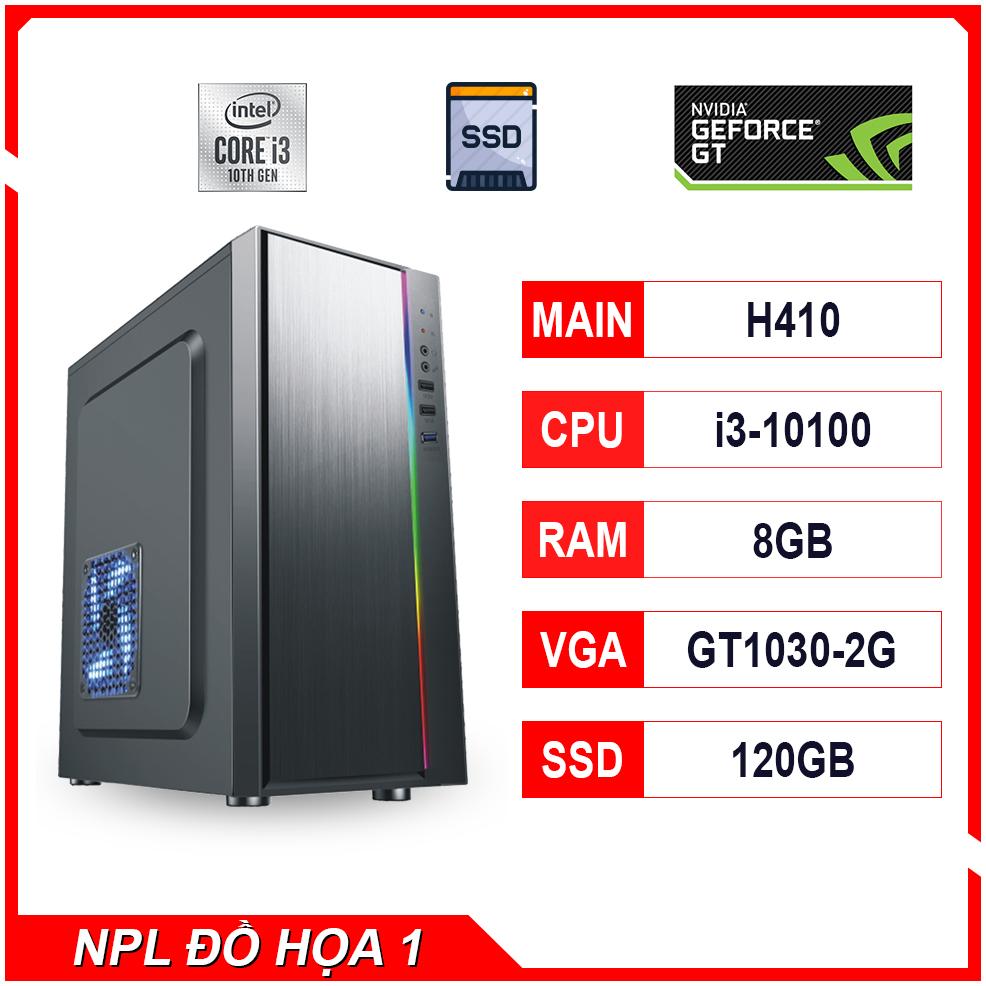 NPL Đồ hoạ 1 (10100-8G-GT1030) – Máy tính đa tác vụ giá tốt