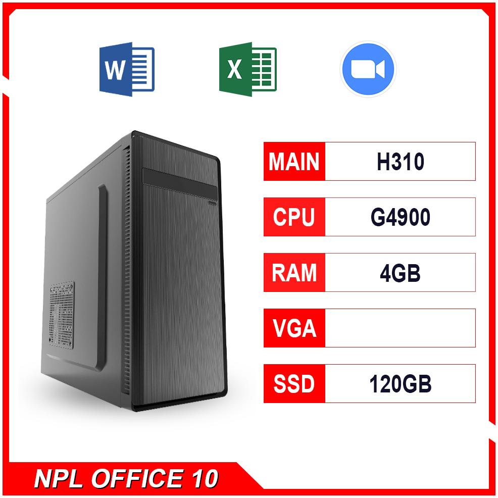 NPL Office 10 (G4900-4G) – Máy tính đa tác vụ giá rẻ