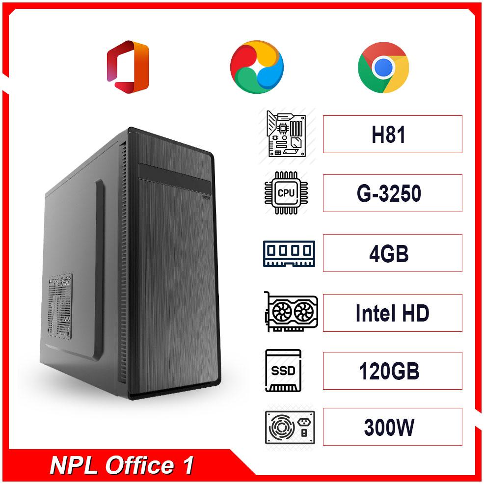 PC NPL Office 1 (G3250-RAM 4GB) – Máy tính văn phòng giá rẻ