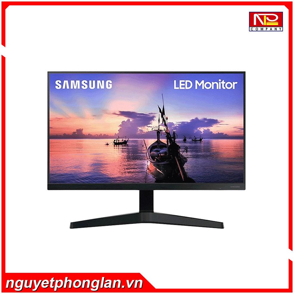 Màn hình Samsung LF24T350FHEXXV (24inch/FHD/IPS/75Hz/5ms/250nits/HDMI+DSub/Freesync)